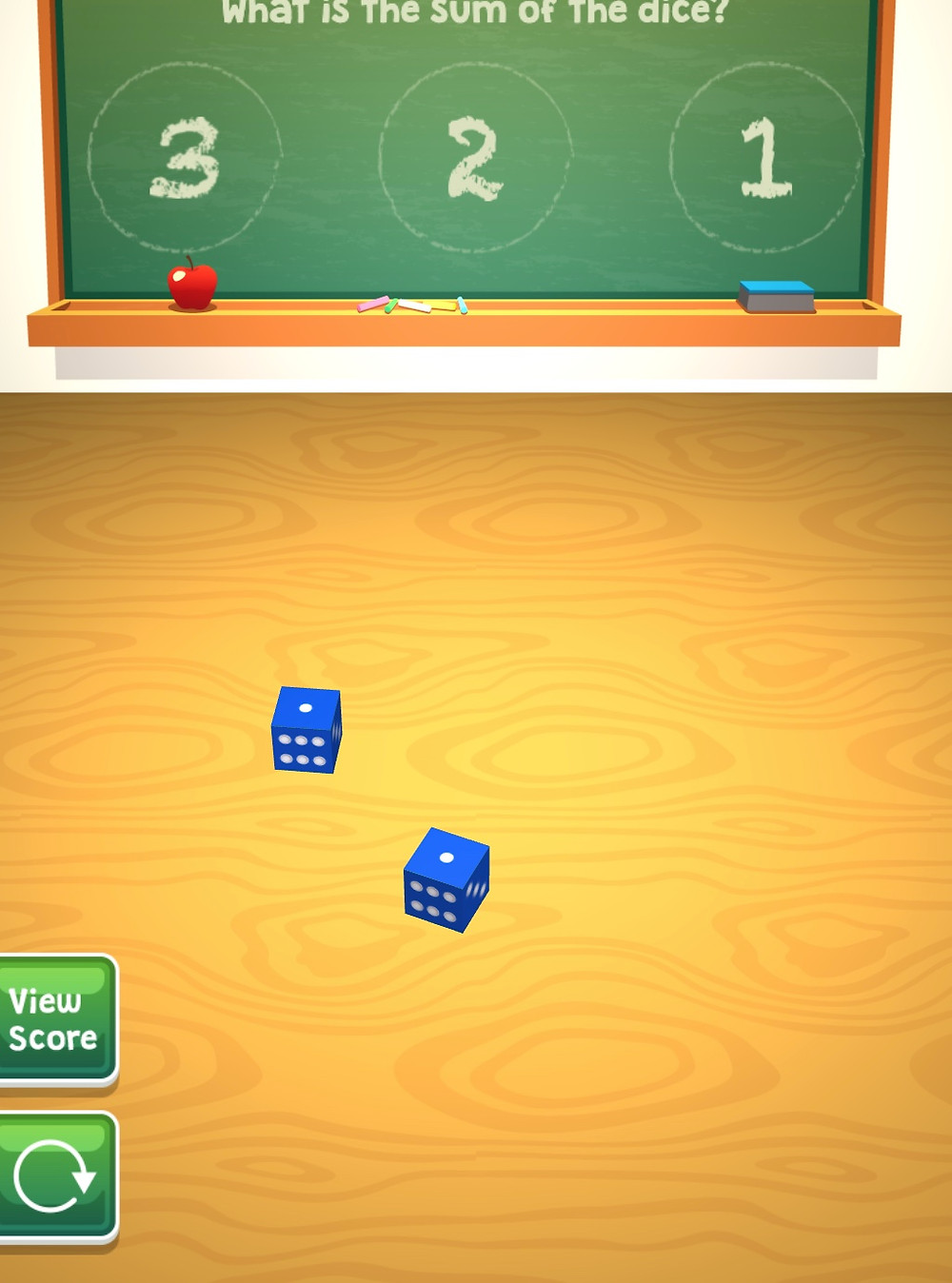 virtual dice addition game online