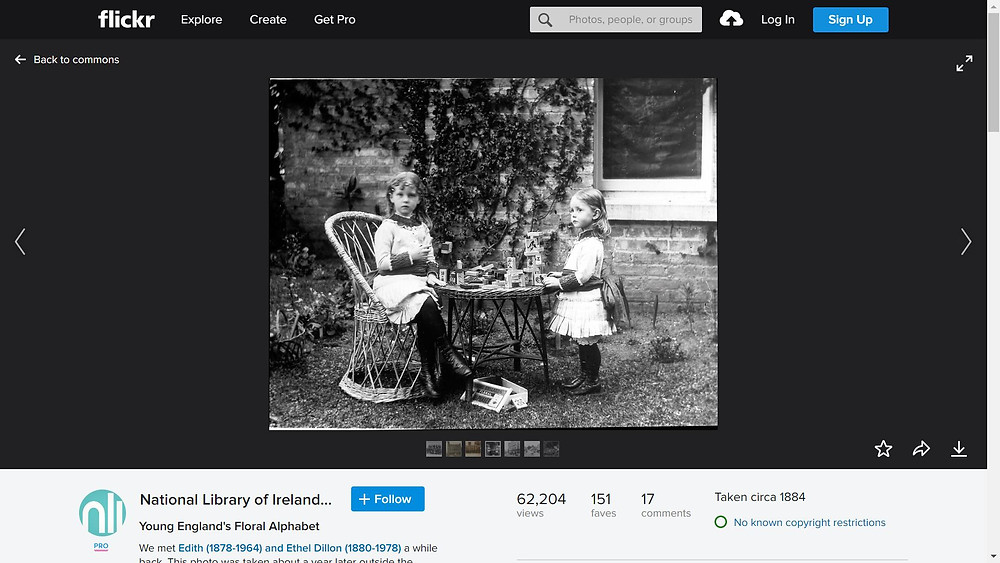 flickr commons historic photo of two children photos images for school projects
