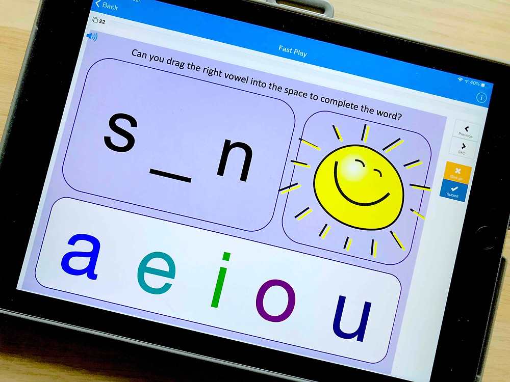 boom cards fun interactive home learning on a tablet for kids phonics