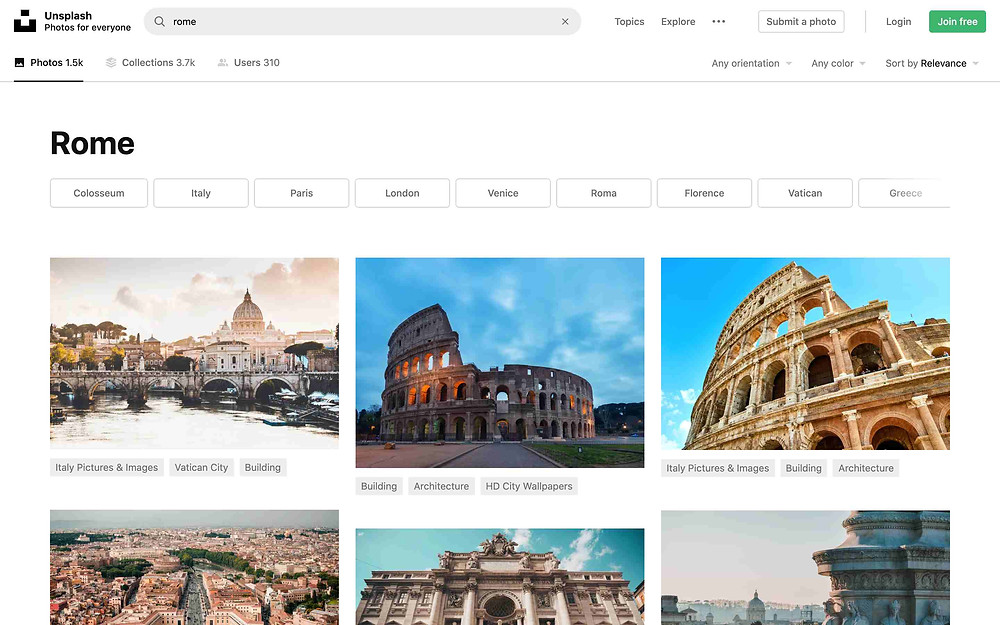unsplash rome search results photos photos images for school projects