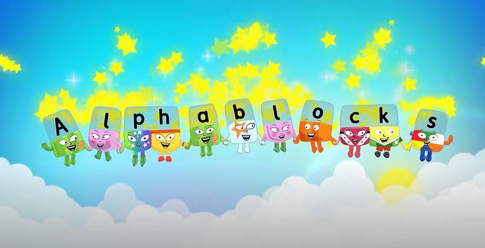 AlPhablocks word magic Cbeebies reading resource