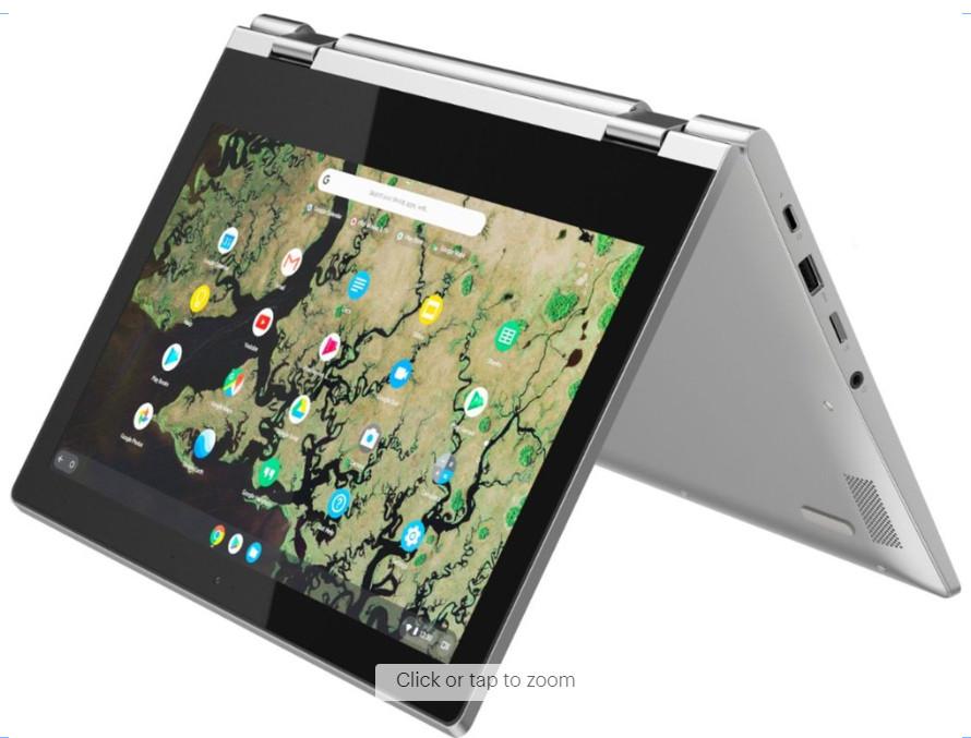 Lenovo Chromebook C340 in tent mode