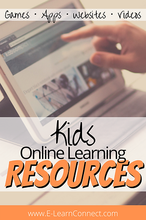Kids online learning resources games apps and websites for kids at home