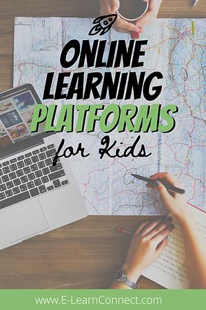 Online Learning Platform list for parents kids home education
