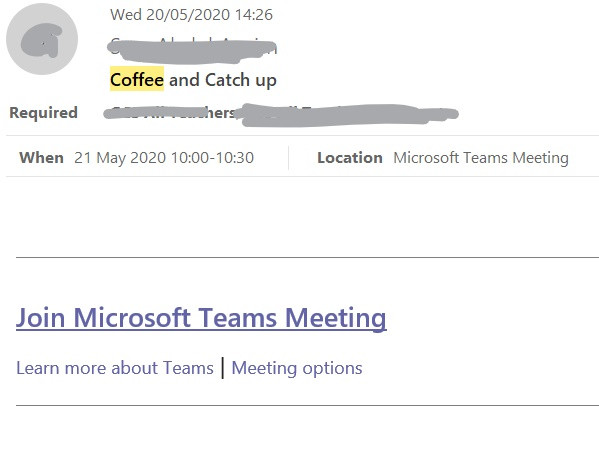 Email link for joining a microsoft teams meeting as an external user