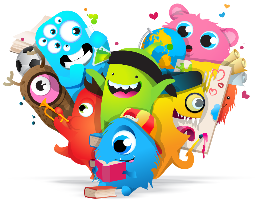 Class Dojo is an online learning platform for kids with fun, colourful characters