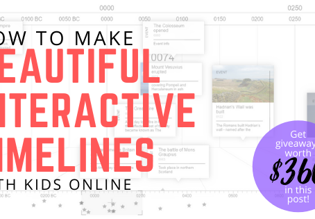 ChronoFlo: Online Timeline Maker for Students (With Giveaway!)