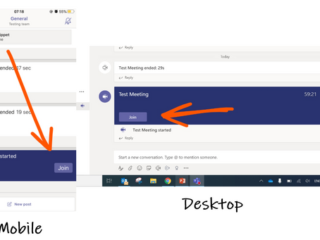 How to join a meeting in Microsoft Teams