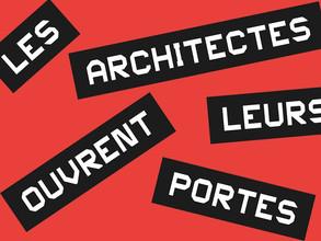 Architectes ouvrent leurs portes                 3 et 4 juin 2016