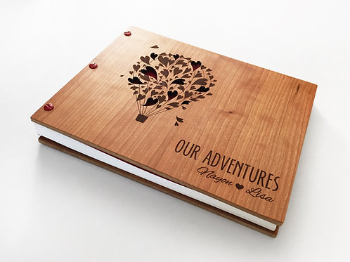 Our Adventure Book Wedding Guest Book Album 8.5x11