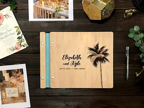 Beach Wedding Guest Book