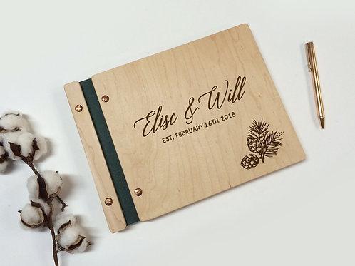 Winter Wedding Guest Book