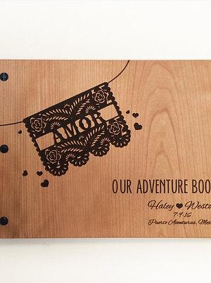 Papel Picado Wedding Guest Book Album 8.5x11