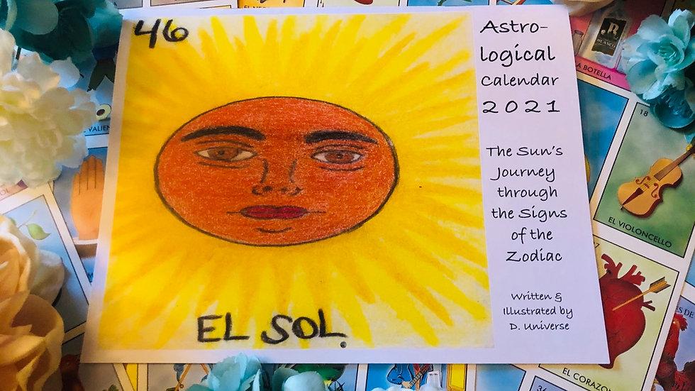 Astrological Calendar 2021