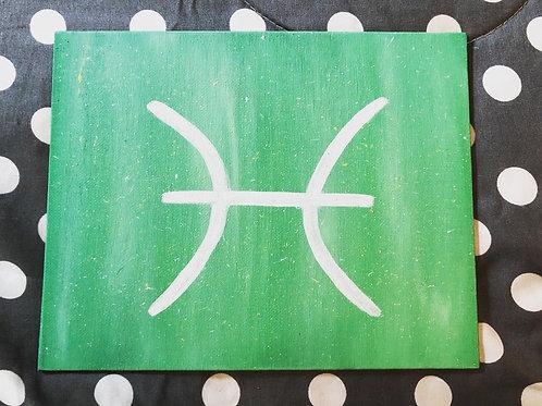Original Zodiac symbol art pieces