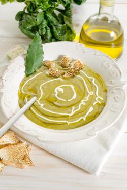spinach soup-zuppa di spinaci