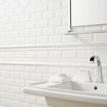 """Profiles"" 3x6 Subway Tile - Ice White - Per Carton ($2.80/SF)"