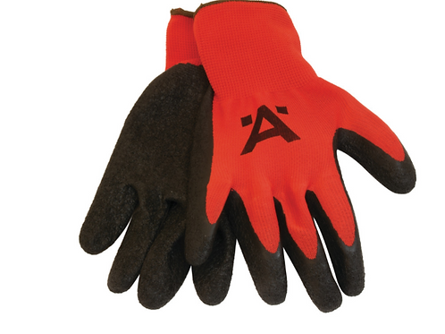 Spidey Gloves, Nylon, Latex Coated - RED/BLACK