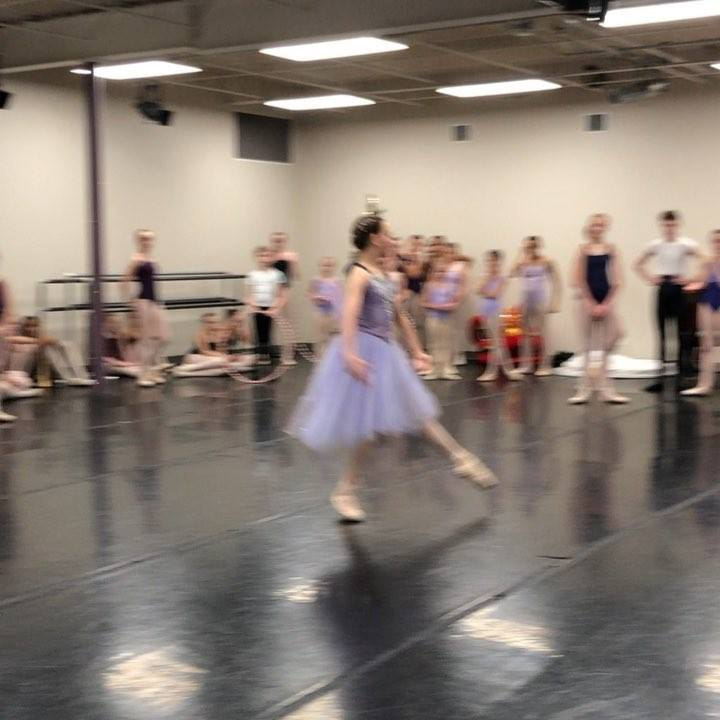 We're trying to decide which costume the Dew Drop Fairy should wear this year so we had Lauren try out some (amazing) turns:) Performances are December 14th, 15th, and 16th at the Joanna Ramsey Theatre. Tickets are available by going to www.littleton