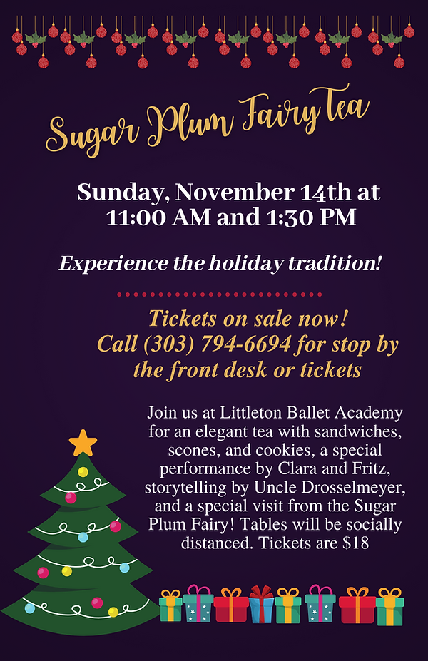 Tickets on sale Sugar Plum Fairy Tea (Flyer (5.5 × 8.5 in)).png