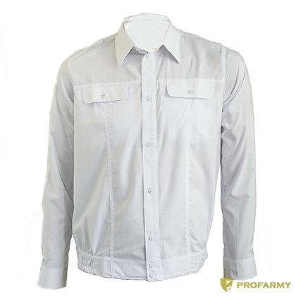 Рубашка МО белая с длинным рукавом н.о.