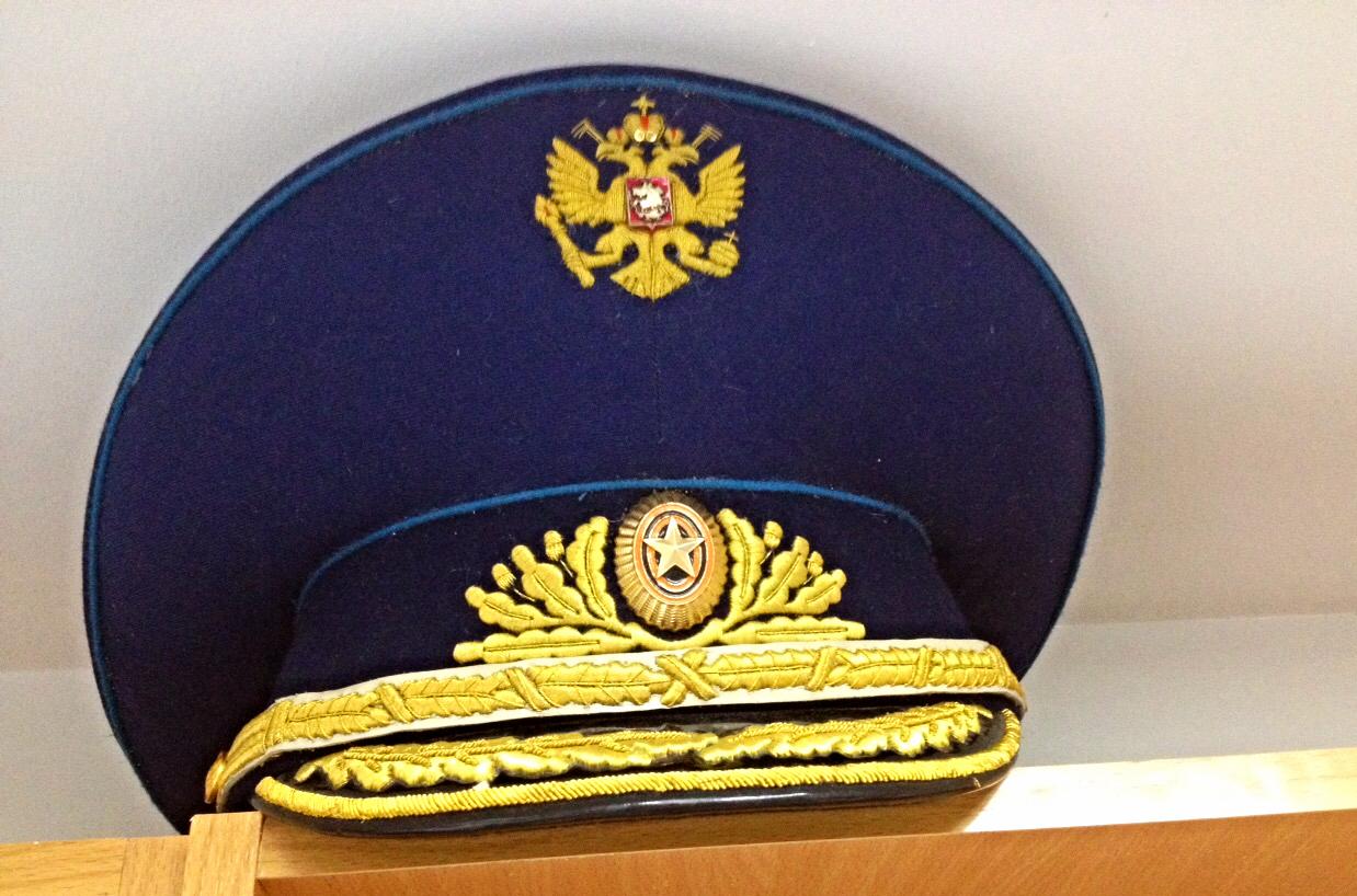 Фуражка ВВС Генеральская с вышивкой