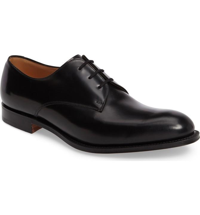 Туфли офицерские на шнурках.
