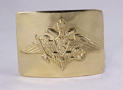 Бляхо  с  гербом РФ (латунь)