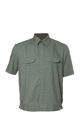 Рубашка МО оливковая с коротким рукавом