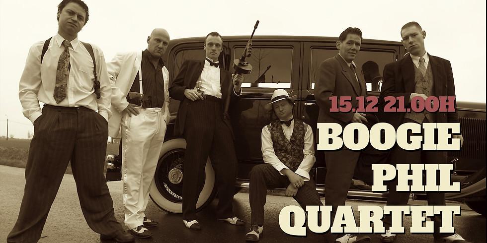 We invite Boogie Phill Quartet