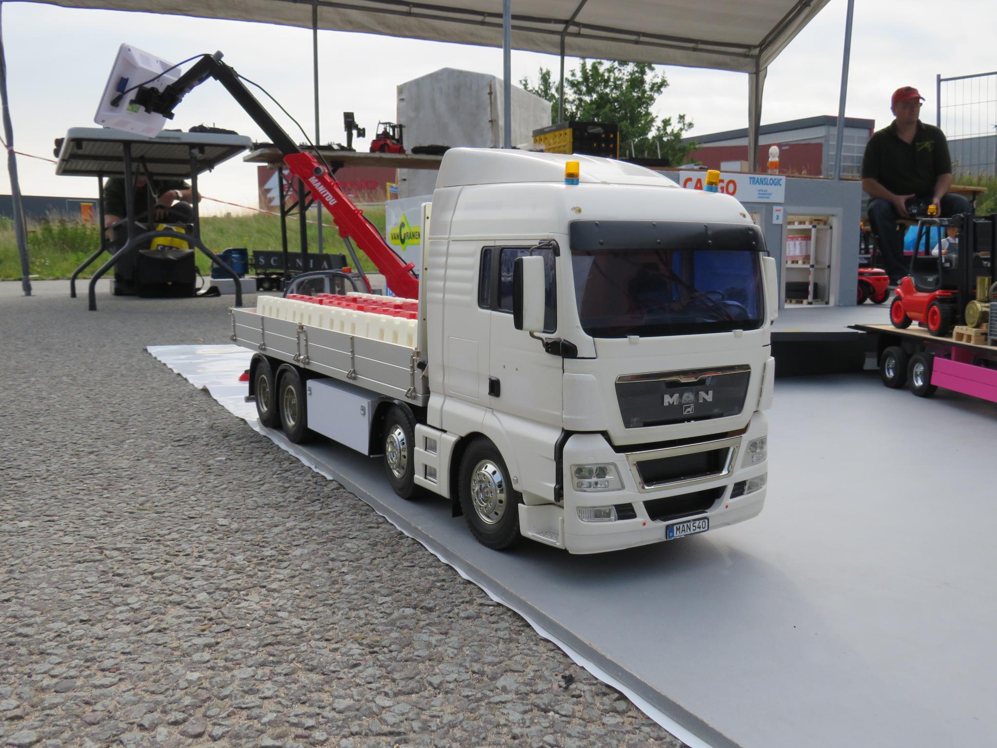 vrachtwagen van toon