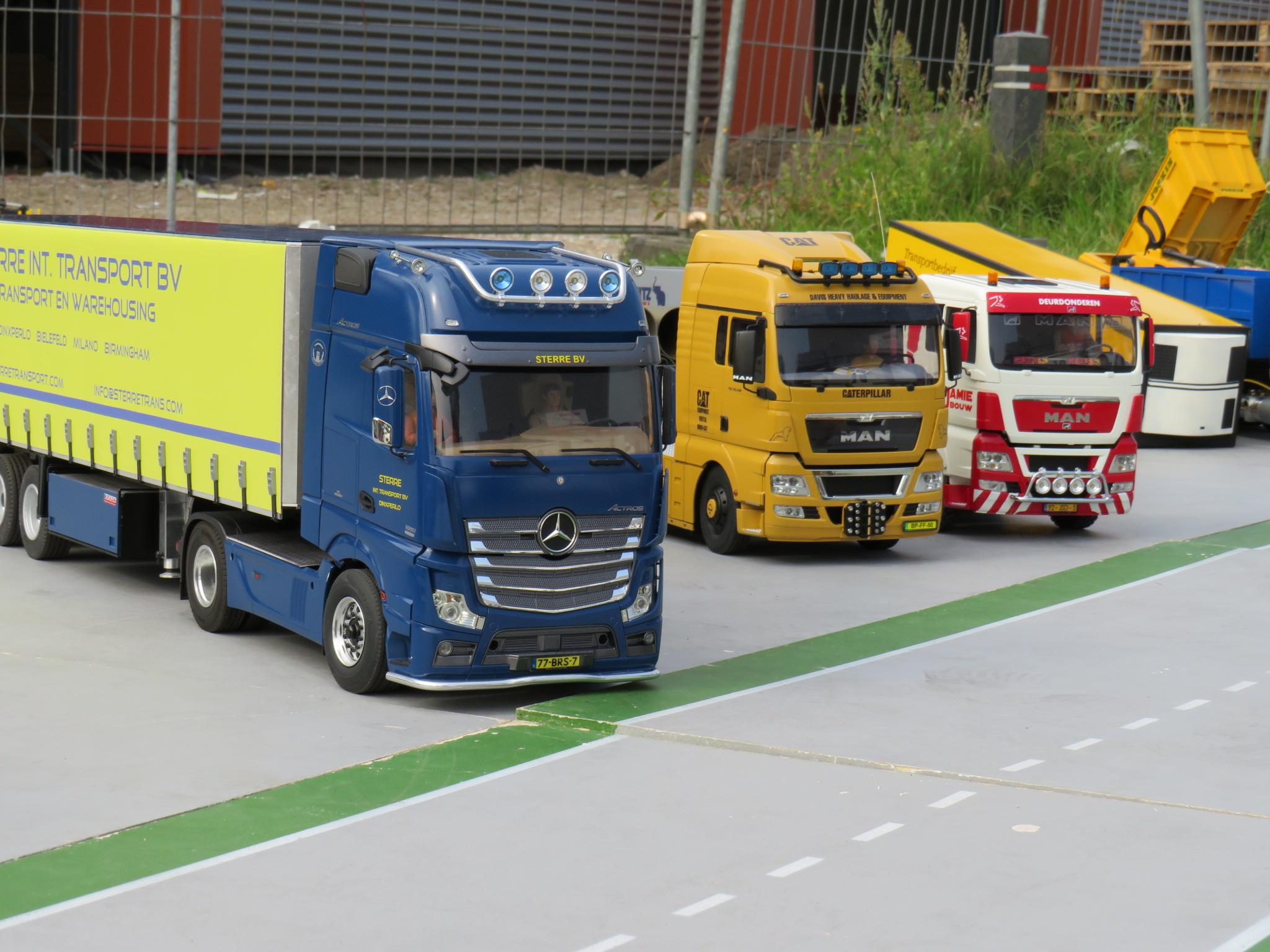 wat vrachtwagens van een paar leden