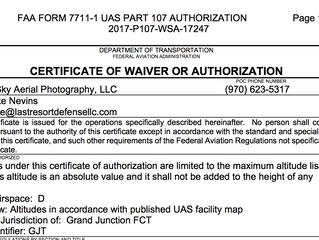 MountainSky Aerial - NAS Authorization