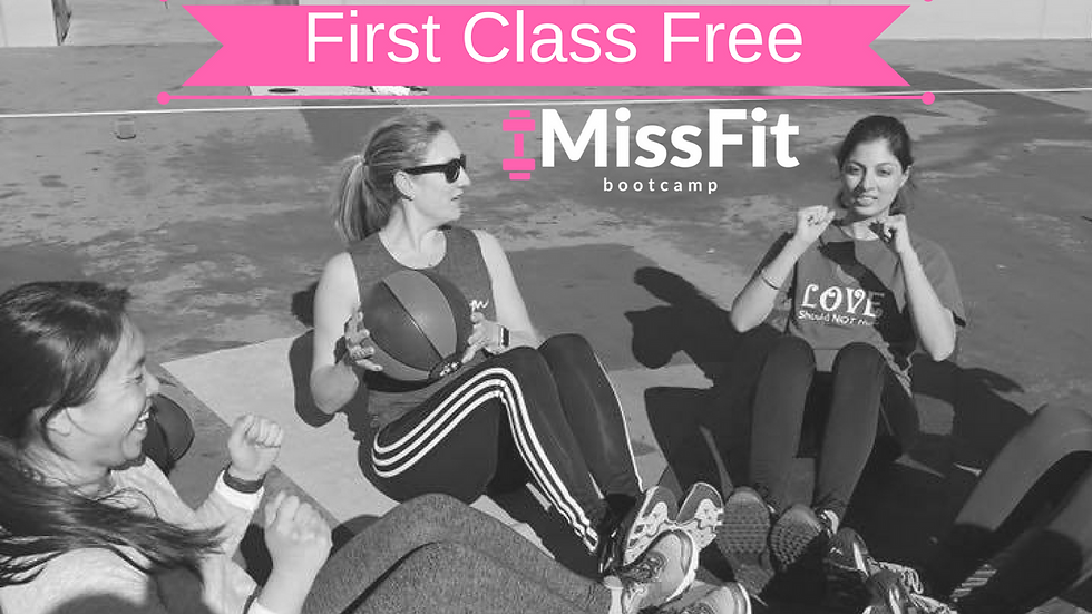 MissFit Virgin? Your 1st Class is FREE