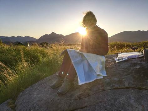 Lofoten - Evening Kayak Planning