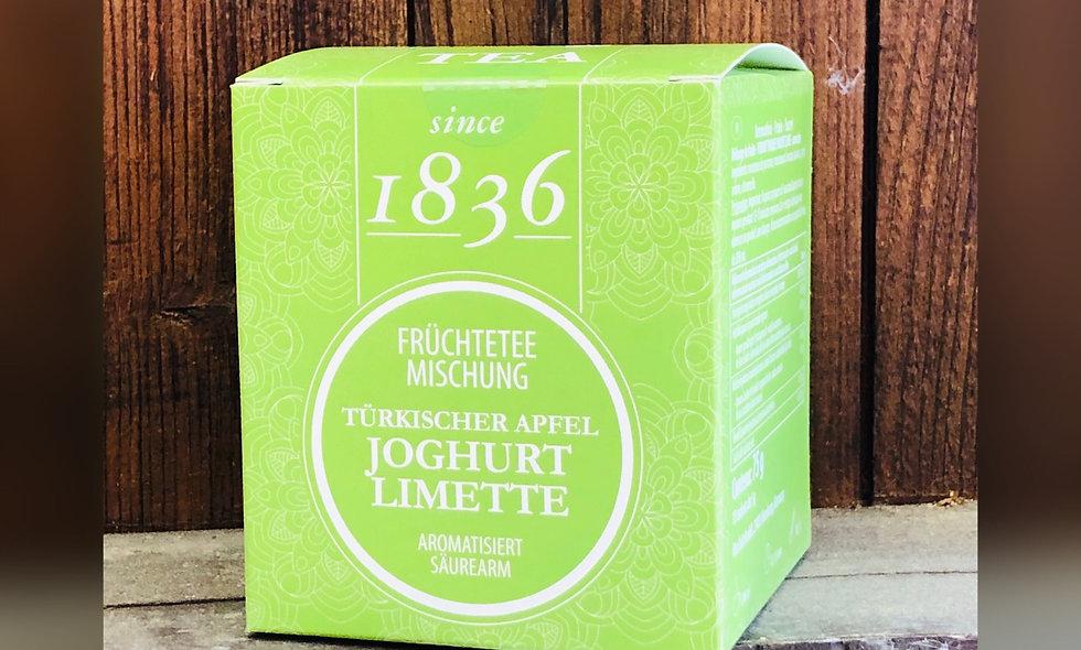 Türkischer Apfel Joghurt Limette