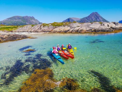 Lofoten - Kayaking in Crystal Clear Waters