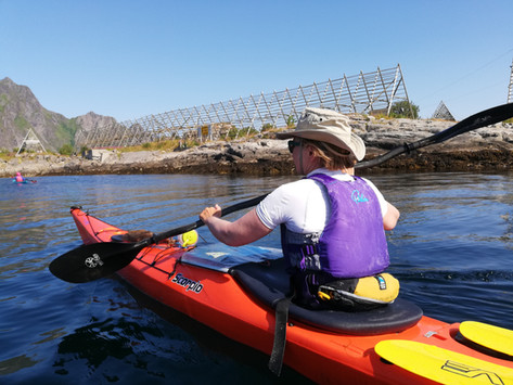 Lofoten - Kayaking Into Svolvaer