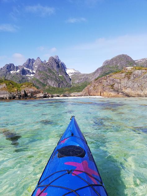 Lofoten - Kayaking to Trollfjord