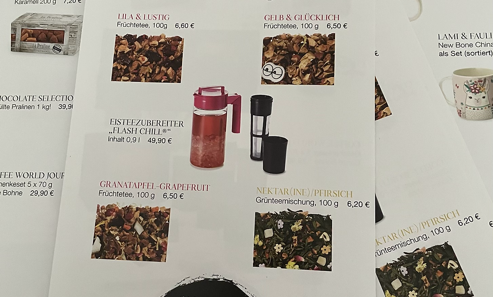 """Flyer """"Vorhang auf"""""""
