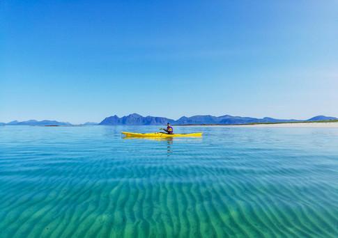 Lofoten - Looking At The Wonders Bellow Your Kayak