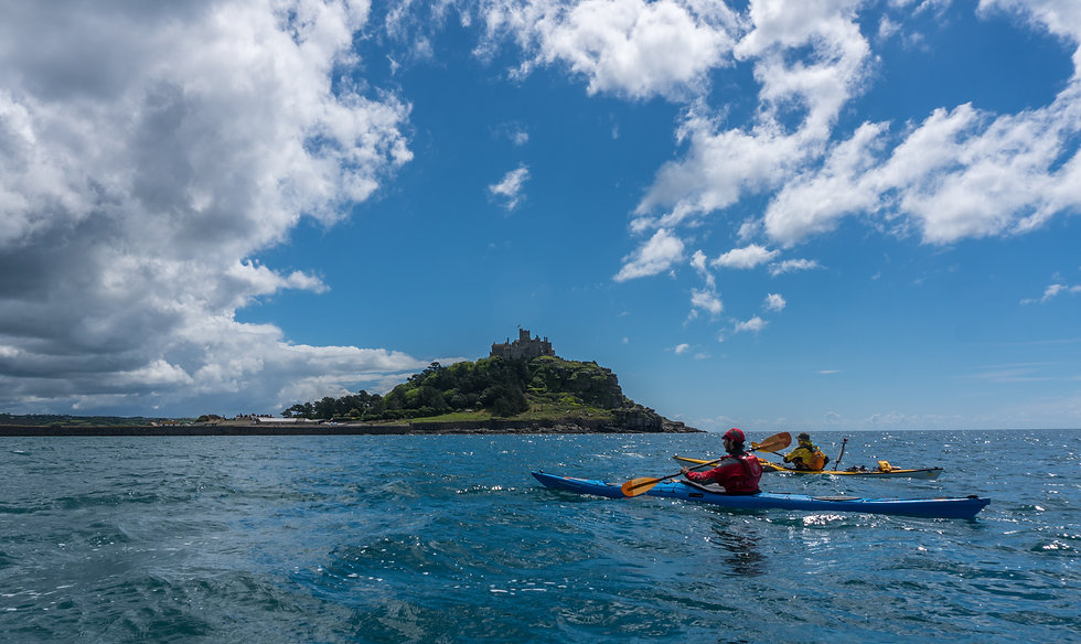 Cornwall sea kayaking