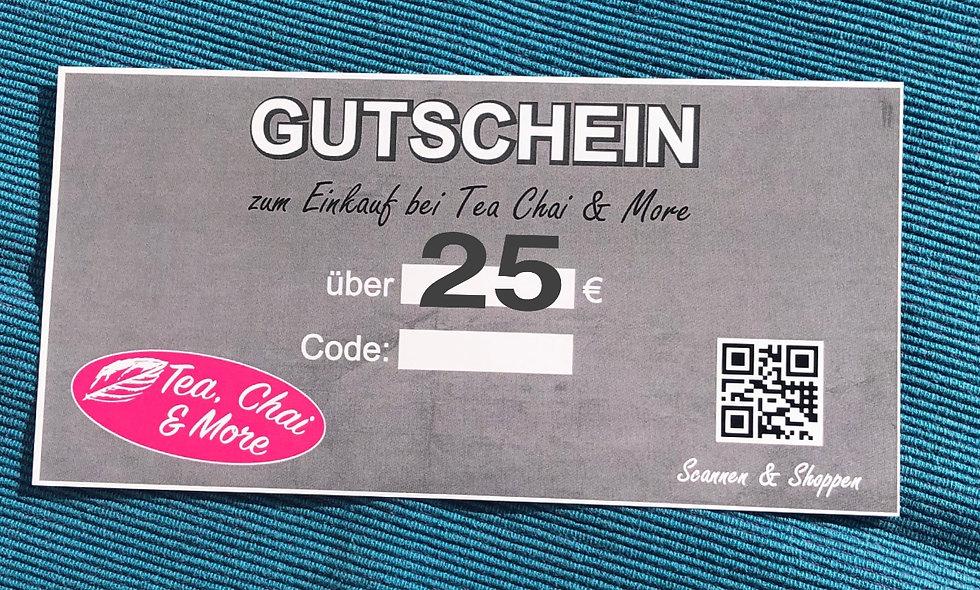 Geschenk -Gutschein