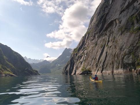 Lofoten - Kayaking Into Trollfjord