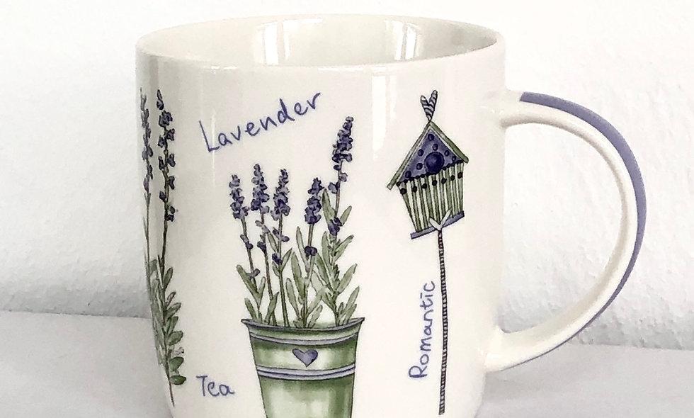 "Becher""Lavender"""