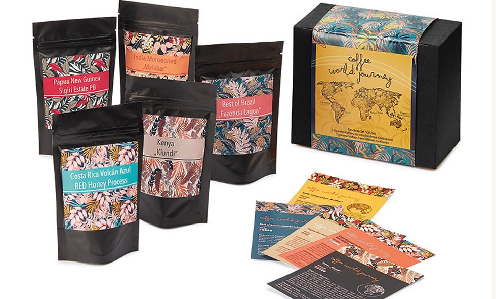 "Geschenkbox ""Coffee World Journey"""