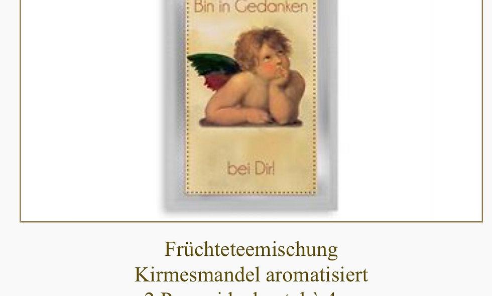 "Tee-Postkarte ""In Gedanken bei Dir"""