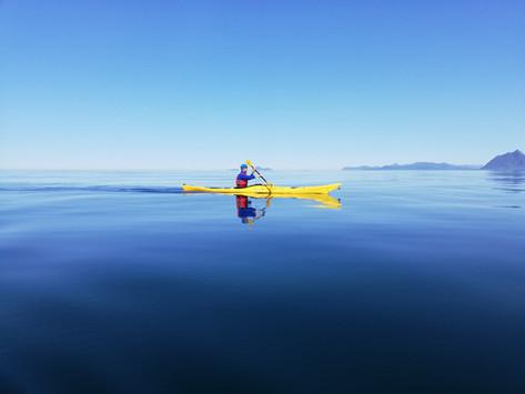 Lofoten - Beautifully Calm Kayaking