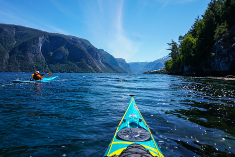 Norway kayaking - Sognefjord in all its glory