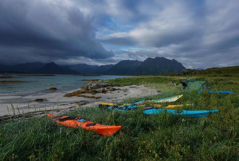 Lofoten - Wild Camping and Kayaking